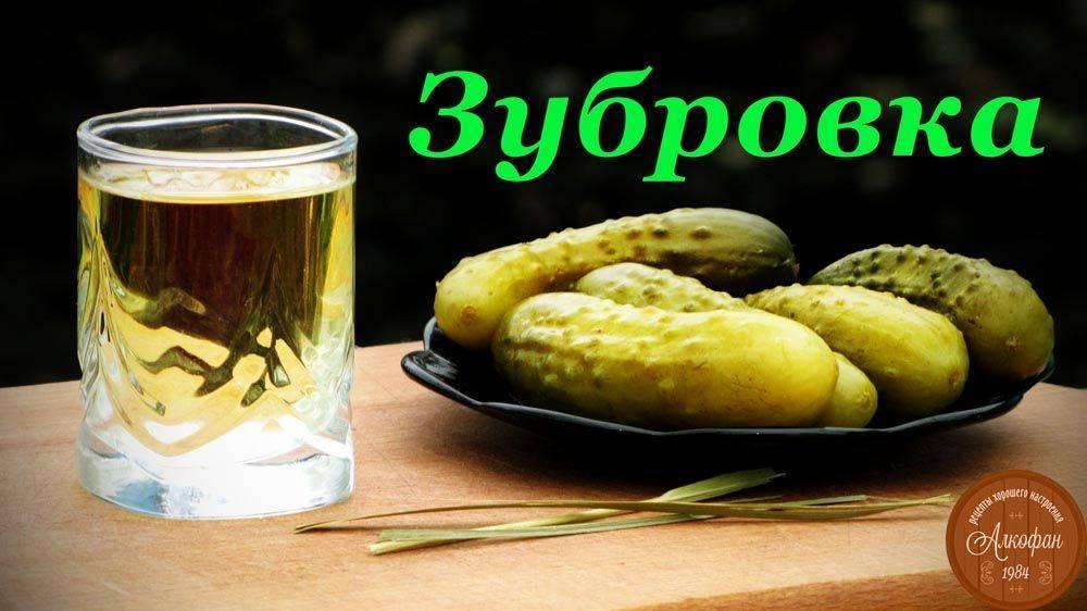 Рецепт приготовления водки зубровка