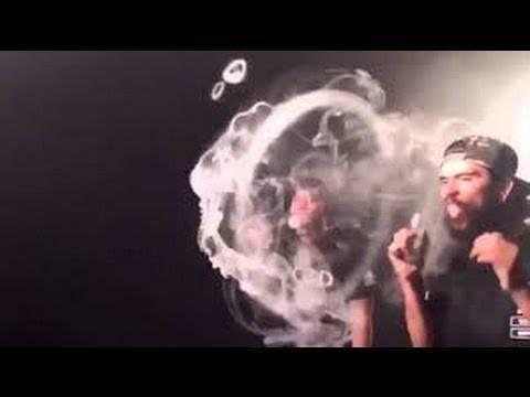 Как делать трюки кольца, медузу и торнадо из дыма — обучение