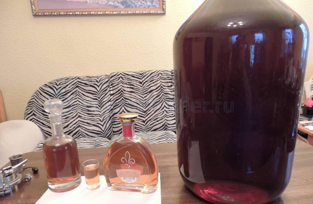 Рецепты коньяка по латгальски: из самогона, с медом, с изюмом
