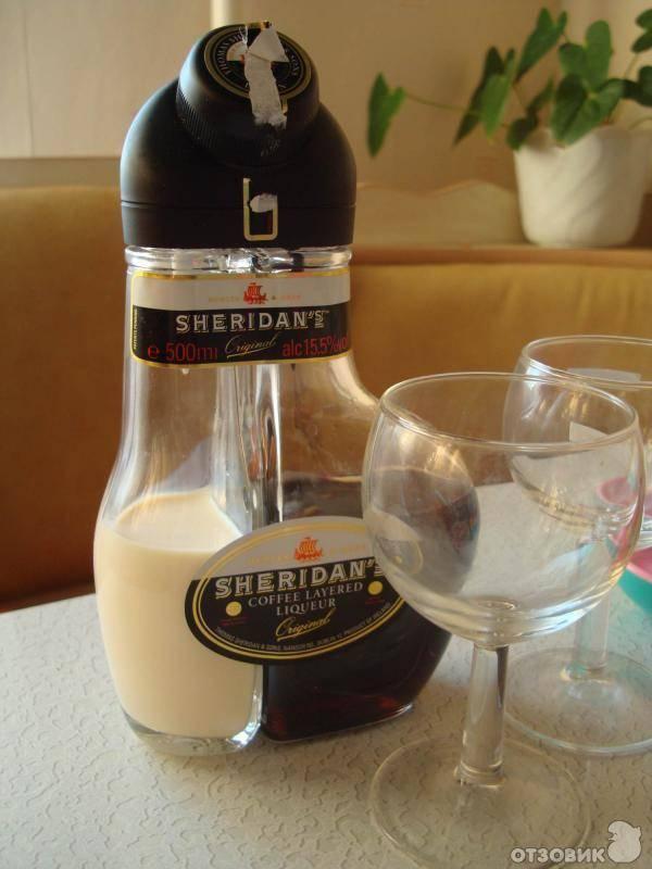Как пить ликер «шеридан»