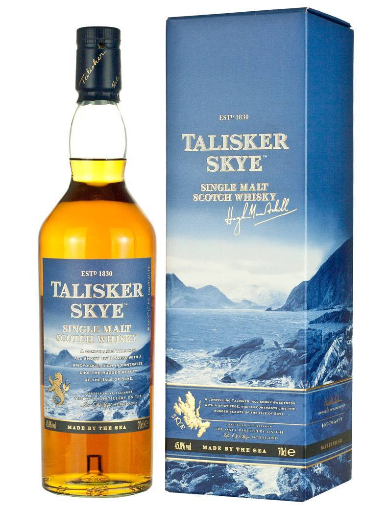 Виски talisker талискер, 10 лет, и его особенности