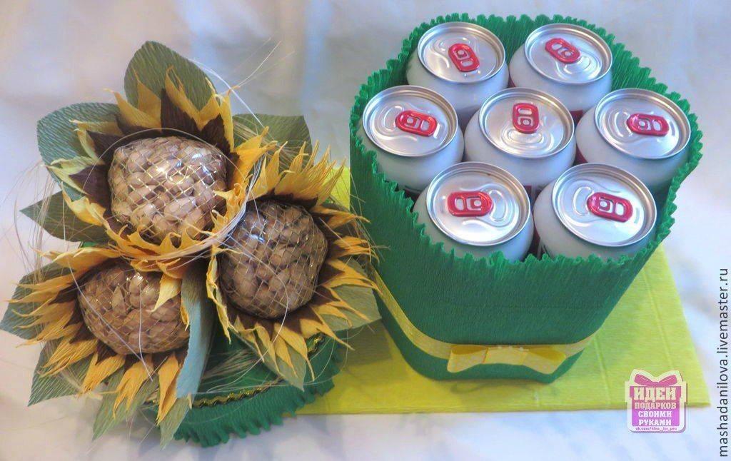 Фото торт из банок пива – торт из банок пива своими руками. как сделать торт из пива для мужчины — фото пошагово