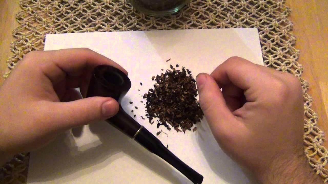 Как правильно забить трубку табаком