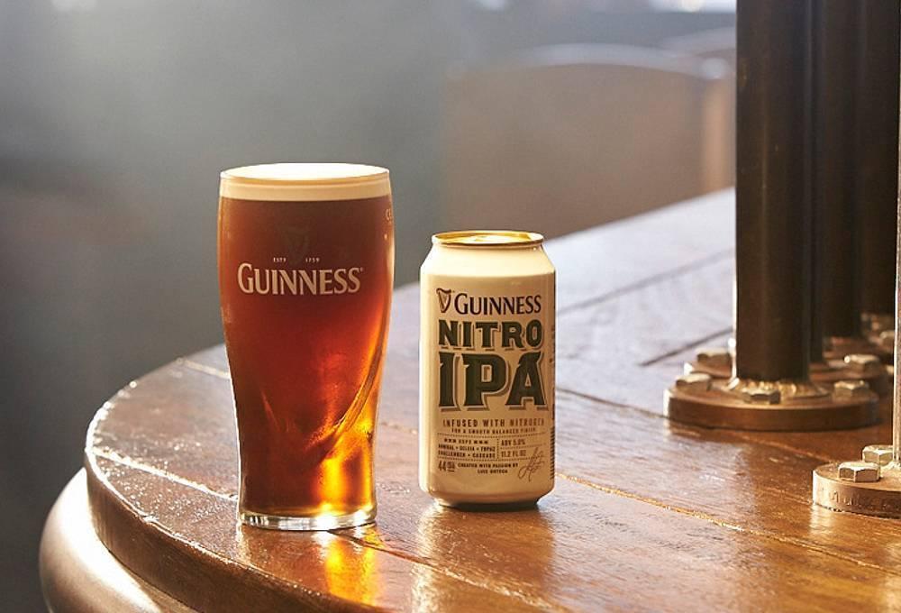 Guinness nitro ipa: отзыв на пиво гиннесс нитро ипа, цена, описание