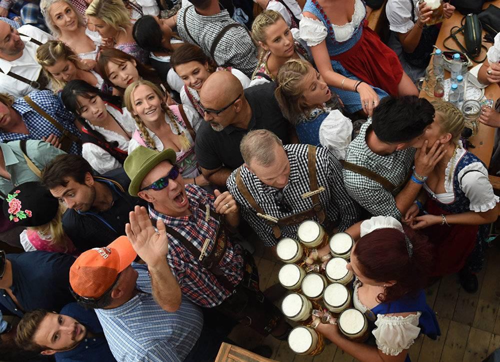 Фестиваль октоберфест в германии