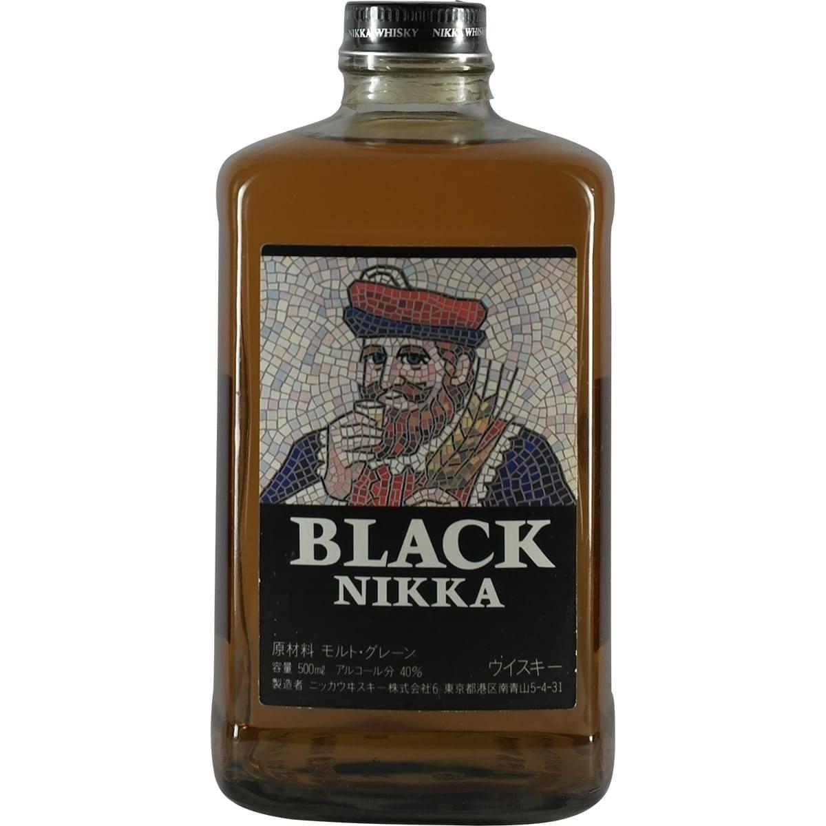 Виски «nikka» black 8 years old, 0.7 л — «никка» блэк 8-летний, 700 мл