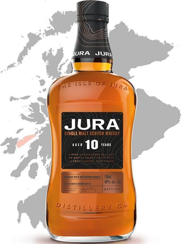 Isle of jura — виски односолодовый шотландский. отзывы