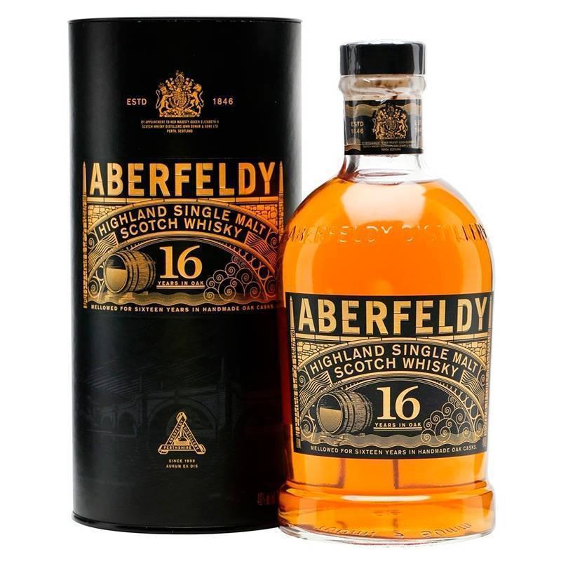 Виски аберфелди (aberfeldy): история, обзор вкуса и видов