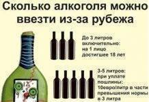 Нормы ввоза алкоголя и сигарет в россию 2020