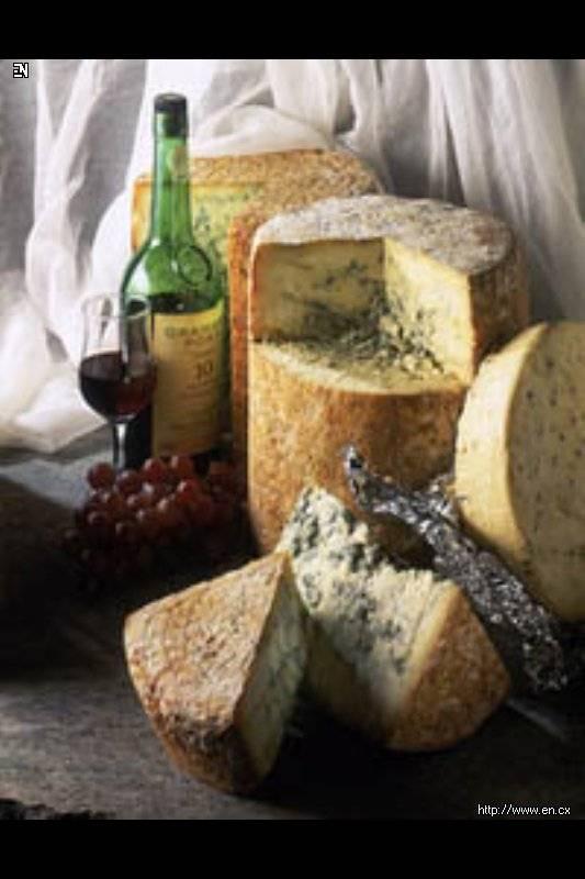 Сочетание сыров с различными видами красного вина