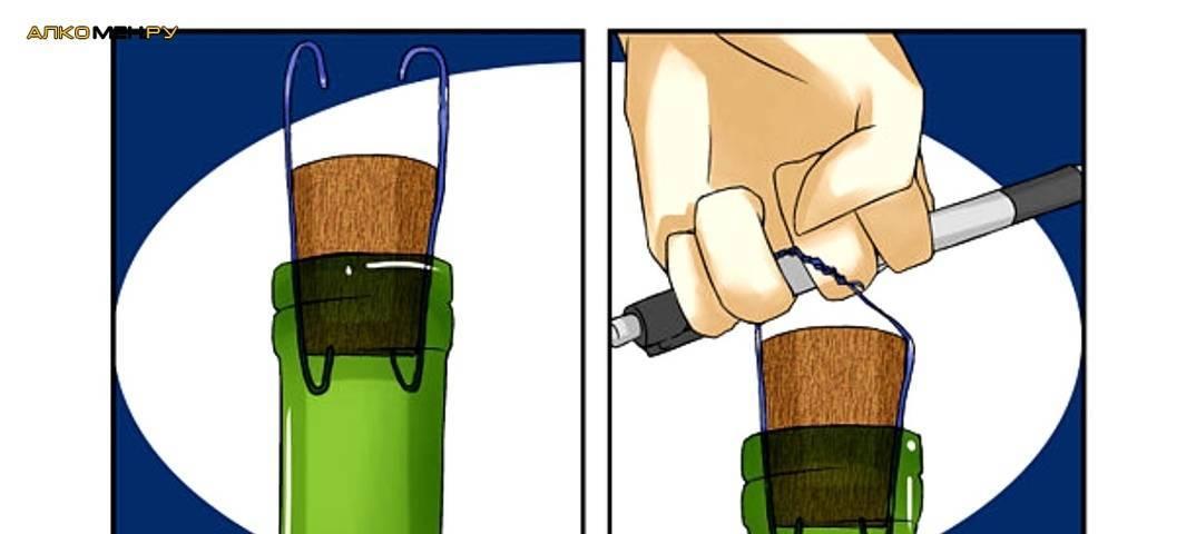 Как правильно открыть вино с помощью штопора и что делать, если штопора нет?
