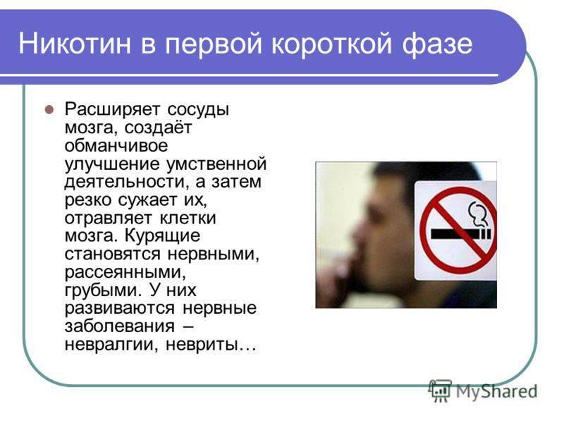 Курение и алкоголь – сужают или расширяют сосуды