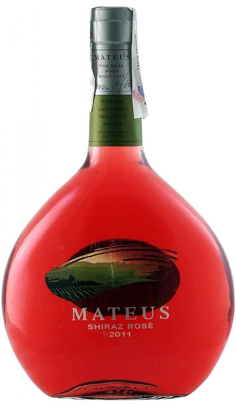 Mateus вино: полусухое белое, розовое, столовое и другие разновидности португальского матеуш