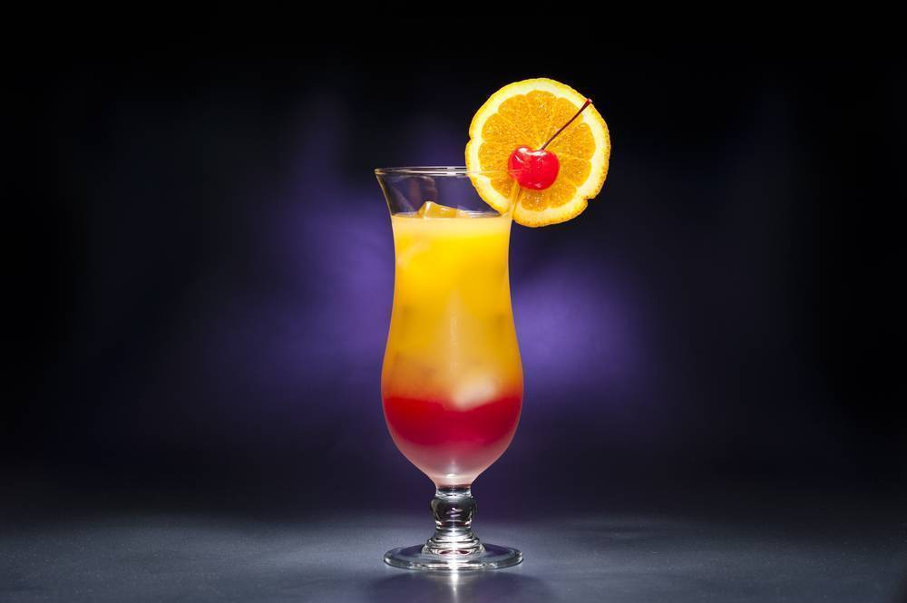 Рецепт коктейля текила санрайз