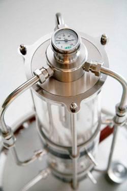 """Стеклянный самогонный аппарат """"александр бутлеров"""" купить по цене 16420 руб. оптом и в розницу"""