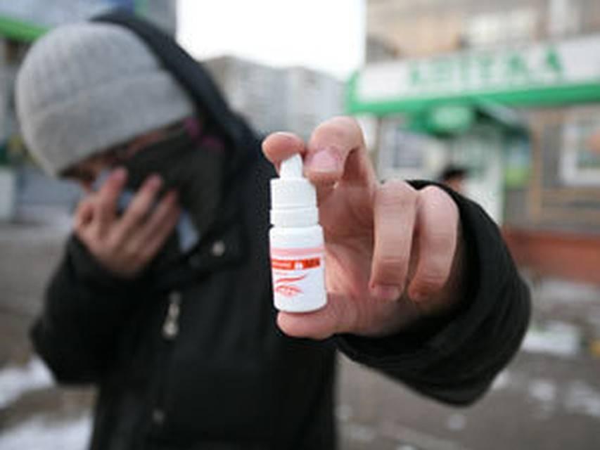 Правда ли что наркоманы употребляют глазные капли тропикамид?
