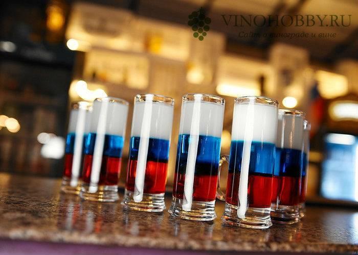 Коктейль «российский флаг», пошаговый рецепт с фото — my cms