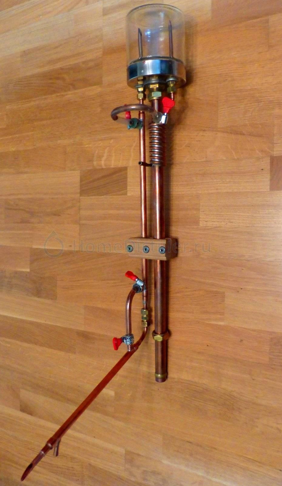 Пленочная колонна самогонного аппарата: что это и как пользоваться