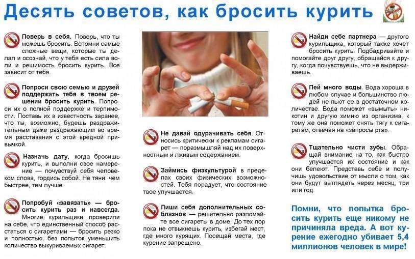 Способы бросить курить: эффективные и проверенные методики борьбы с привычкой