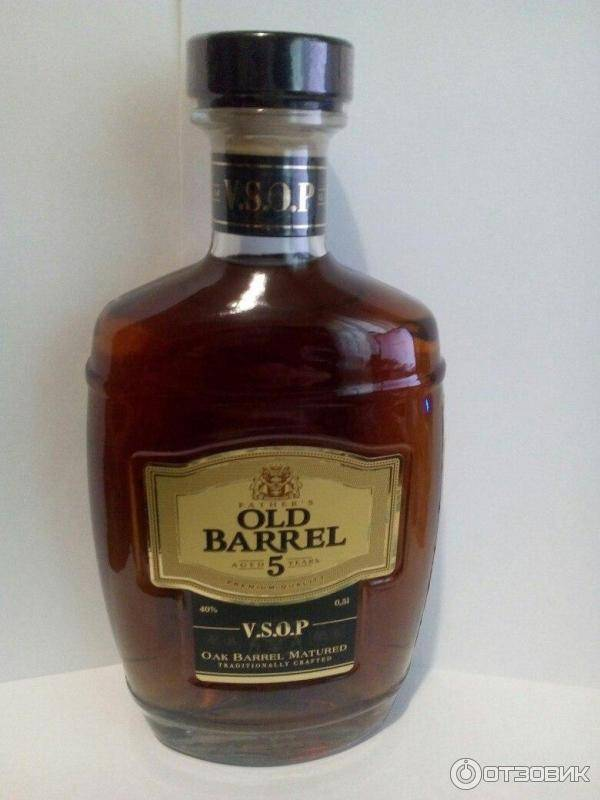 Обзор коньяка old barrel (олд баррель)