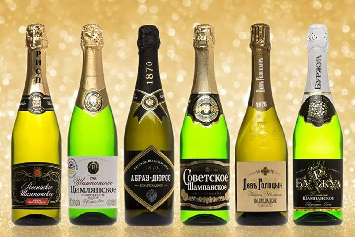 Калорийность шампанского, брют, полусухое, полусладкое. таблица.