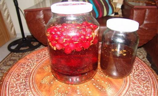 Настойка самогона на шиповнике: рецепт приготовления