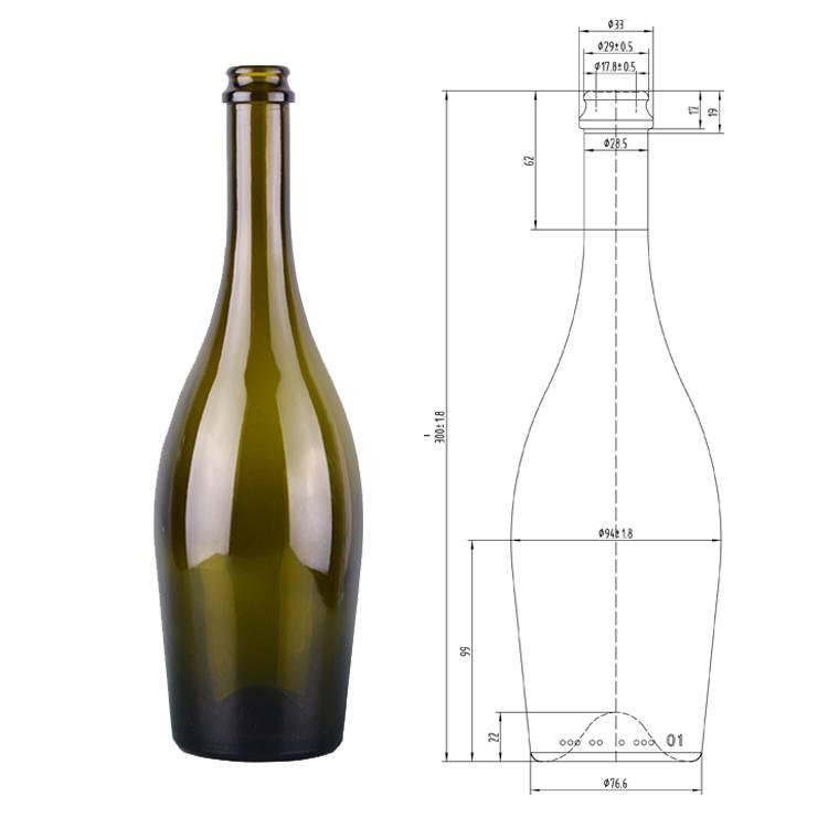 Размер бутылки вина: показатели и характеристики стандартных и необычных емкостей