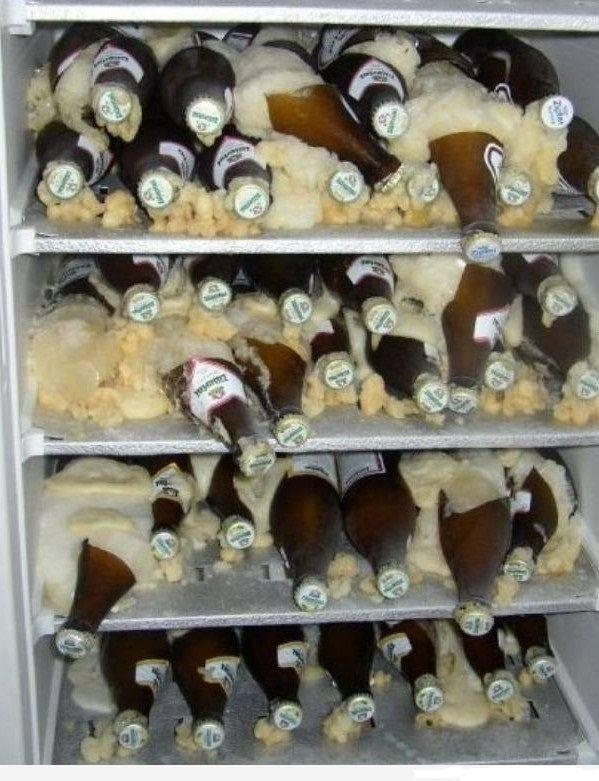 Можно ли хранить пиво в морозилке и что сделать с замерзшим напитком?