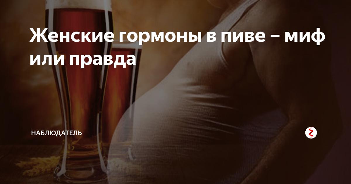 """""""повелитель"""" гормонов: как пиво влияет на женщин и мужчин"""