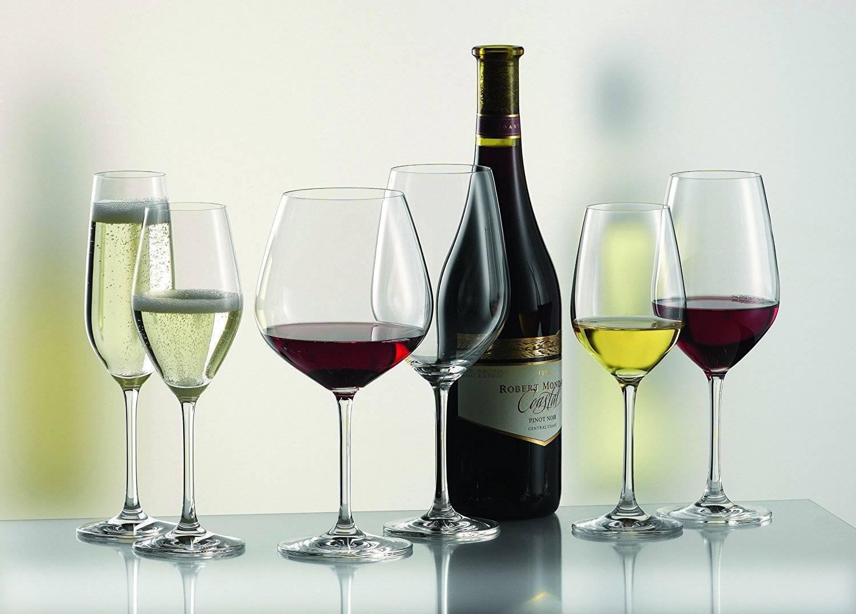 Подходящие формы бокалов для белого и красного вина, критерии выбора