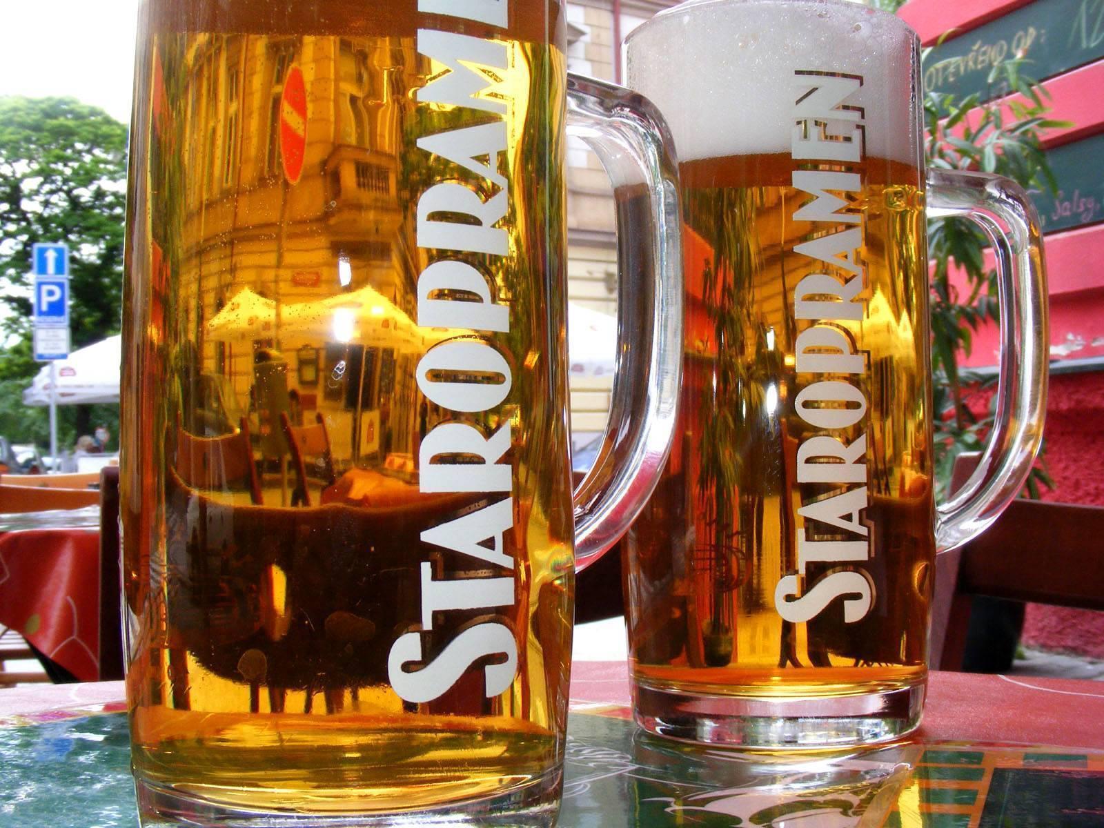Чешское пиво (пиво в чехии/праге) - наш отзыв