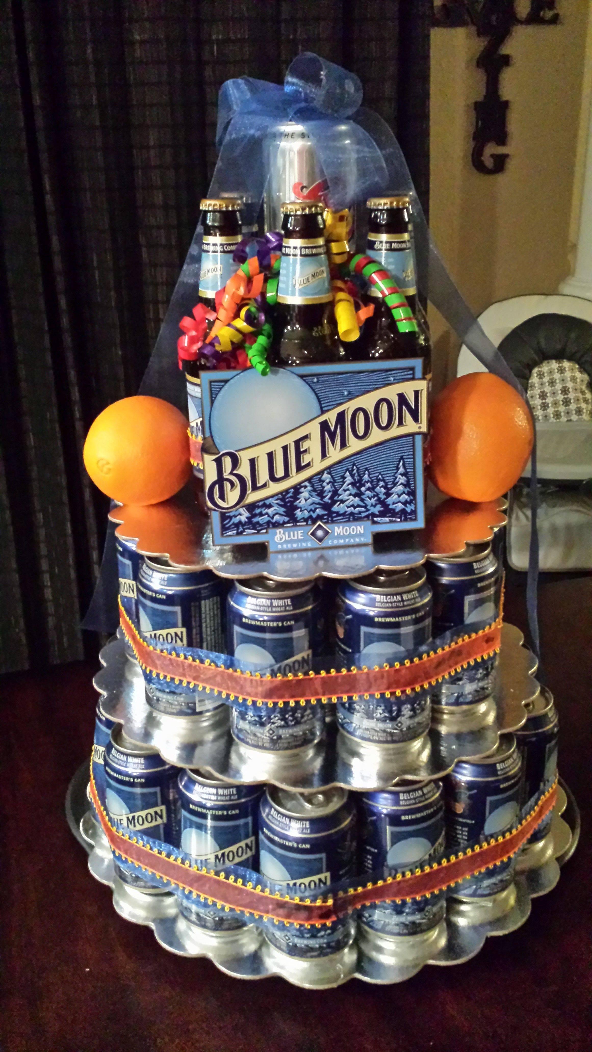 Мастер-класс по созданию торта из пива