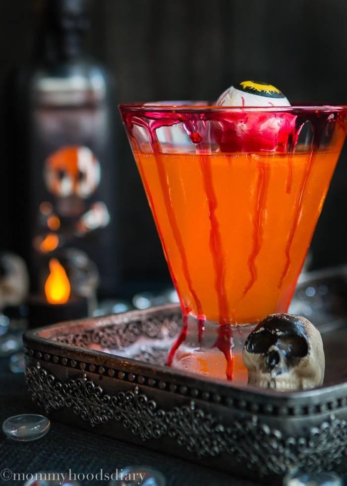Зловещие безалкогольные коктейли на хэллоуин - вкусные рецепты от receptpizza.ru