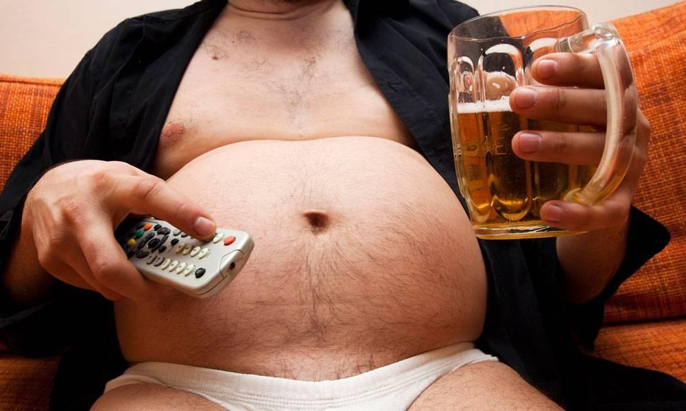 Пивной живот: у мужчин и женщин, как избавиться, причины, убираем в домашних условиях, упражнения, фото, видео, как выглядит, большой, почему растет
