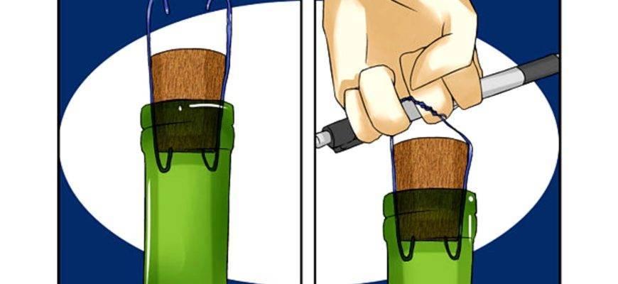 Как открыть вино штопором, не повредив бутылку – инструкция