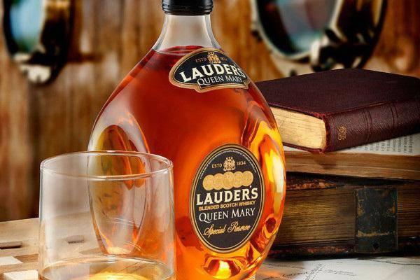 Виски лаудерс: история, обзор вкуса и видов