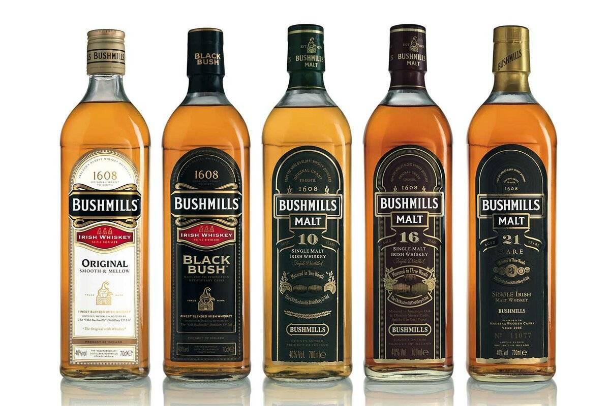 Виски bushmills (бушмилс): описание, виды, история марки