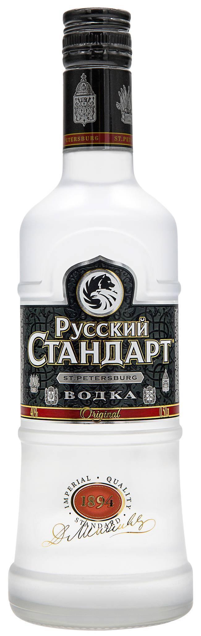 Водка русский стандарт: состав, производитель, ориджинал и другие разновидности напитка, особенности изготовления