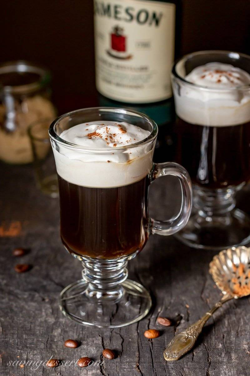 Кофе по-ирландски - как приготовить черный или с молоком