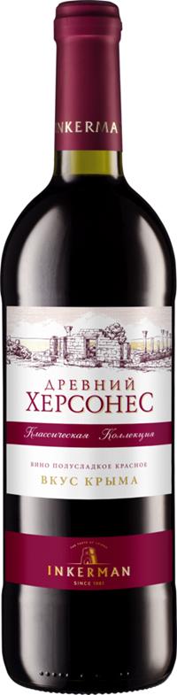 """Вино """"древний херсонес"""" - inkerman, """"ancient chersones"""", 750 мл"""