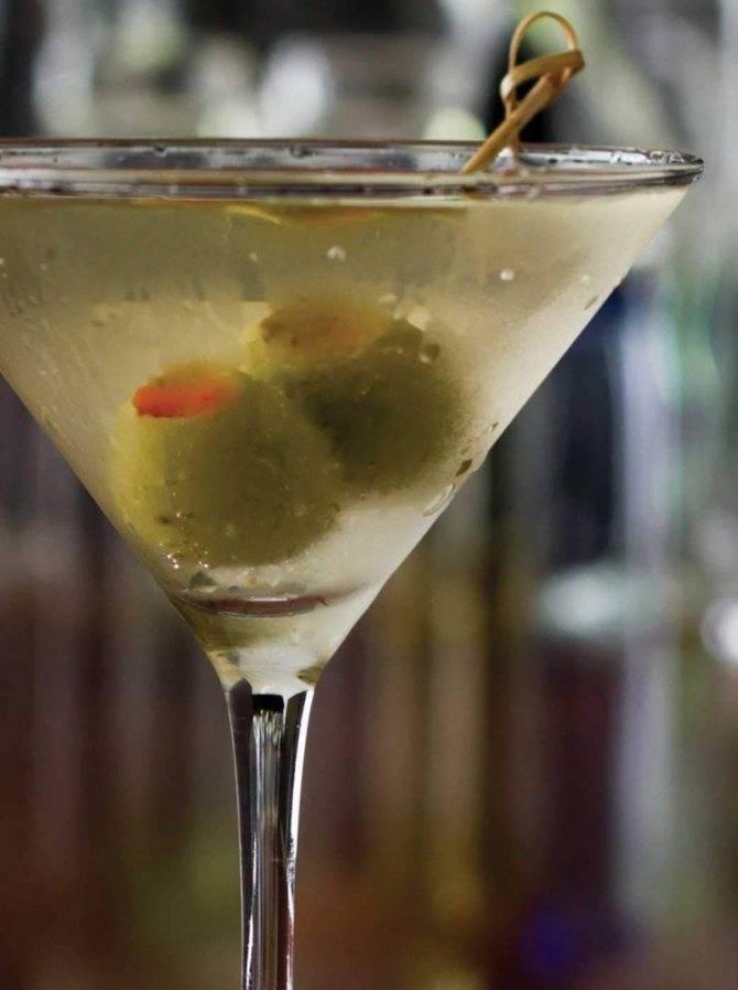 Как сделать коктейль сухой мартини в домашних условиях