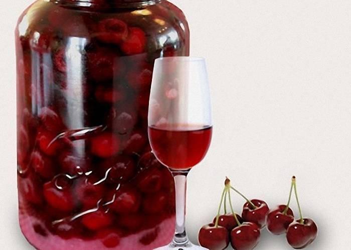 Вишневая настойка на водке в домашних условиях. рецепт приготовление вишневки с косточками на 3-х литровую банку.