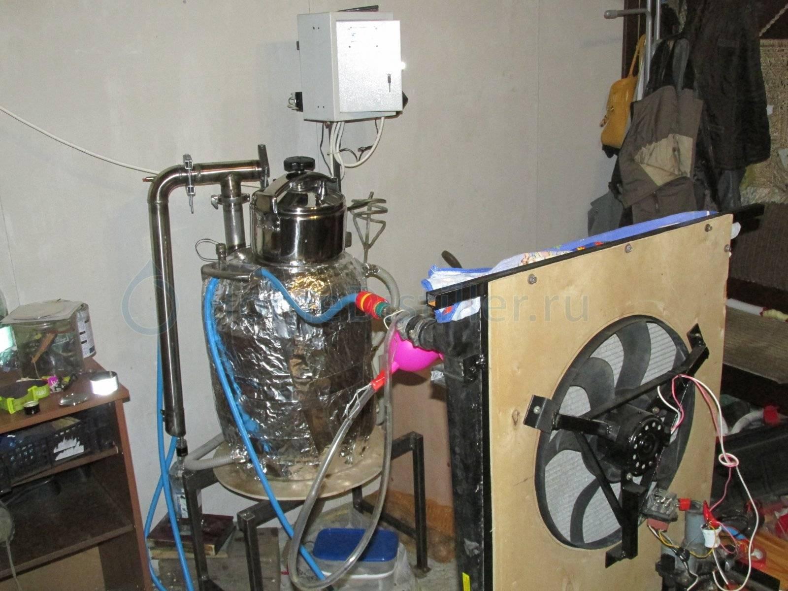 Автономное охлаждение для самогонного аппарата своими руками