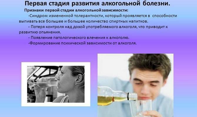 Алкоголизм у мужчин: первые признаки и симптомы