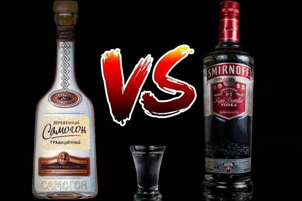 Самогон и водка: что лучше пить, чем отличаются напитки, что безопаснее употреблять