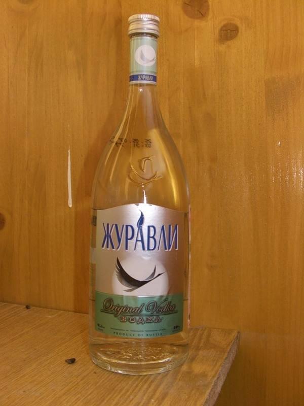 """Вкусная водка """"журавли"""""""