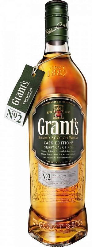 Виски grant's 8 yo — новый релиз от william grant & sons ltd.