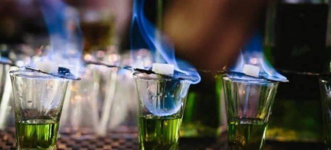 Напиток который поджигают. готовим горящие напитки. всегда ли поджигают абсент или нет