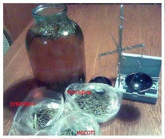 Рецепт настойки зубровки из самогона (водки) в домашних условиях