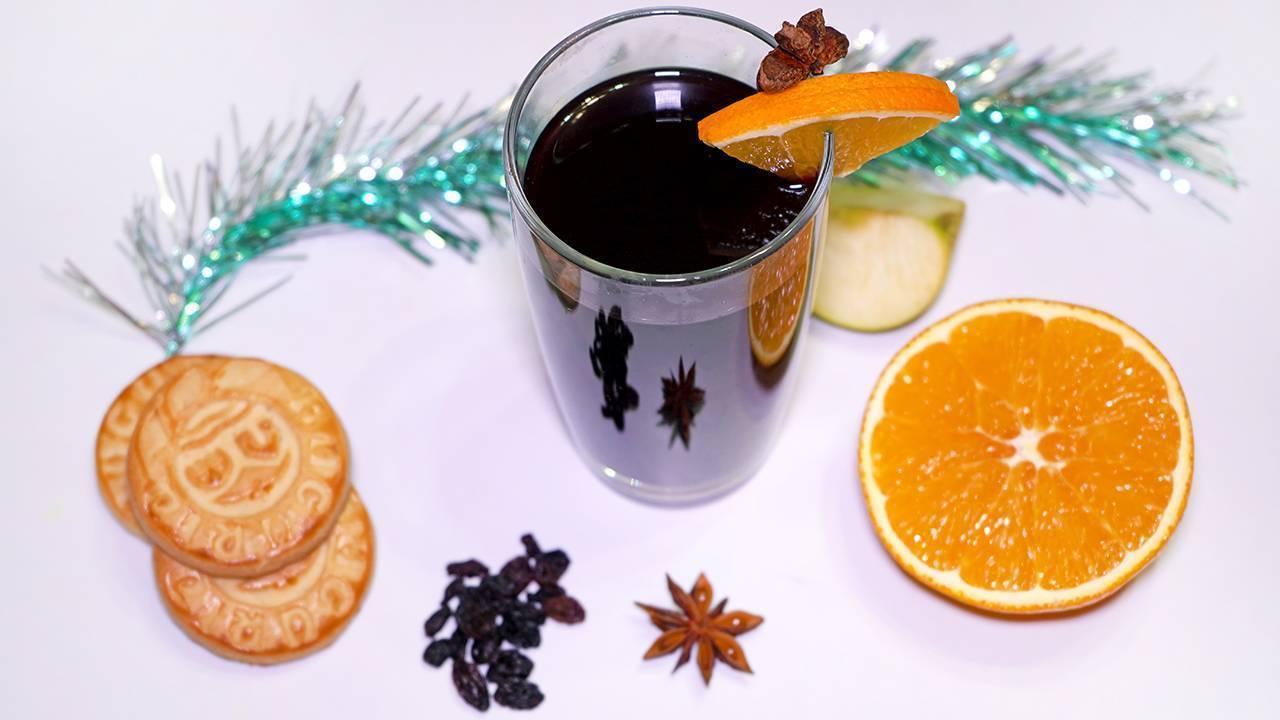 Глинтвейн с апельсином и корицей - рецепт в домашних условиях
